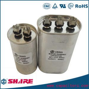 Cbb65 450V AC Motor Run Capacitor for Air Conditioner Compressor pictures & photos