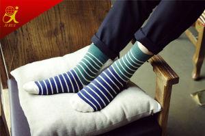 High Quality Compression Socks Men Stripe Socks Wholesale pictures & photos