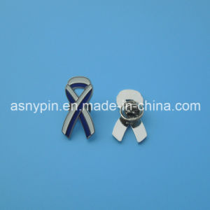 Hotsale Breast Cancer Awareness Ribbon Badge with Israel Flag Design pictures & photos