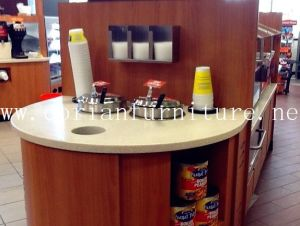 Acrylic Solid Surface Retail Shop Sale Counter Shop Counter Desk pictures & photos