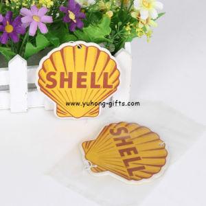 Shell Shape Lemon Scent Paper Air Freshener for Promotion (YH-AF220) pictures & photos
