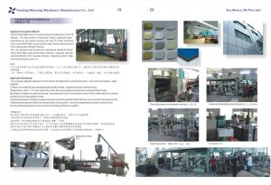 Plastic & Aluminum Panel for decoration Line, Twin Screw Compounder-Extruder pictures & photos