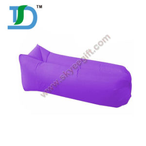 Waterproof Beach Purple Inflatable Sleeping Bag pictures & photos