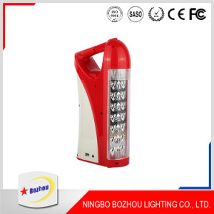 Battery Backup LED Rechargeable Emergency Light with Remote Control pictures & photos