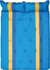 Outdoor Self-Inflating Double Adhesive Camping Mattress 190tpolyester Pongee PVC Economical