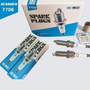 Wholesale Price Baudo Bd-7706 Spark Plug for Cars Engine pictures & photos