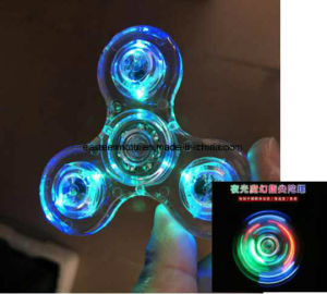 2017 New Fidget Toys Hand Fidget Spinner EDC UV Tri-Spinner pictures & photos