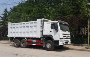 HOWO 10L Engine 6X4 Dump Truck Without Sleeper pictures & photos