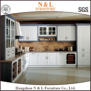 Modern Home Furniture PVC Wood Kitchen Cabinet pictures & photos