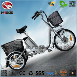 250W Electric Motor Safe Cargo Tricycle for Parents pictures & photos