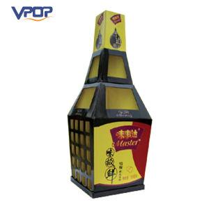 Bottle Shape Cardboard Supermarket Pallet Display for Sauce