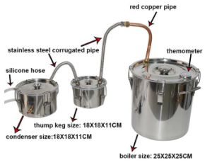 Home Beer Wine Processing Machinery Moonshine Alcohol Fermentation Equipment pictures & photos