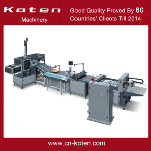 Semiautomatic Rigid Box Making Machine pictures & photos