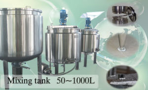 150liter Syrup Cooking Kettle / Syrup Cooking Tank Syrup Mixing Tank pictures & photos