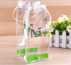 PVC Transparent Gift Plastic Bag Customization Logo pictures & photos