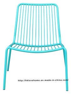 Replica Living Room Stackable Side Metal Wire Leisure Chairs pictures & photos