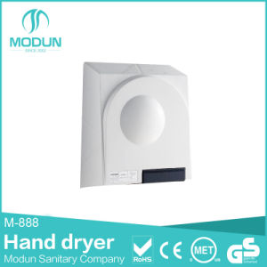 Bathroom Wall Mounted ABS Plastic Automatic Jet Hand Dryer Single Jet Automatic Hand Dryer pictures & photos