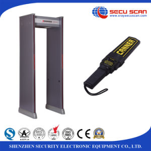 16 zones Walk Through Metal Detector AT-300A for outdoor use DFMD pictures & photos