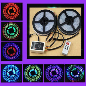5m/Roll SMD5050 Dream Color LED Flexible Strip with 6803 IC pictures & photos