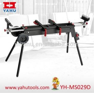 Universal Saw Mounted Hand Tools Miter Saw Stand with Two Wheels (YH-MS029D) pictures & photos
