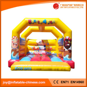 Inflatable Trampoline/ Jumping Castle Bouncer (T1-403B) pictures & photos