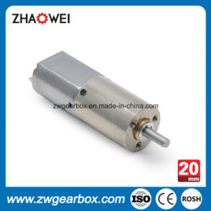 12 Volt 20mm Medical Device Planetary Electric DC Geared Motor pictures & photos