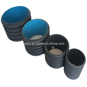 High Quality HDPE 500mm Double Wall Corrugated Pipe From China Manufacturer pictures & photos