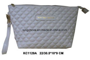 Latest Quilted PU Cosmetic Bag (KC1129A) pictures & photos