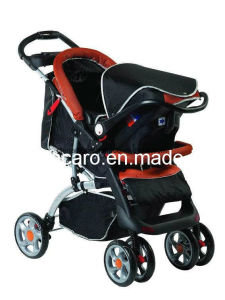 Hot Sales European Standard Baby Stroller with Car Seat pictures & photos
