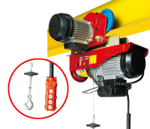 Mini Electric Wire Rope Hoist PA600 pictures & photos