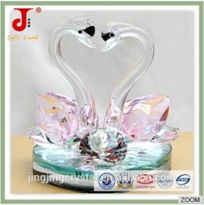 Hot Popular Crystal Swan for Wedding Gift pictures & photos