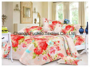 Wholesale Factory Poly/Cotton Fabric Modern Bedspread Bedding Set pictures & photos
