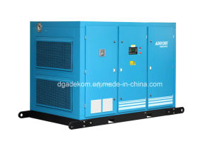 Two Stage 8bar Oil Flooded Industrial Air Screw Compressor (KF185-8II) pictures & photos