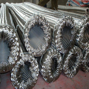 Stainless Single Braided Flexible Metal Hose pictures & photos