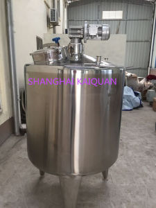 Stainless Steel Thick Thin Liquid Mixing Tank Agel Mixer pictures & photos