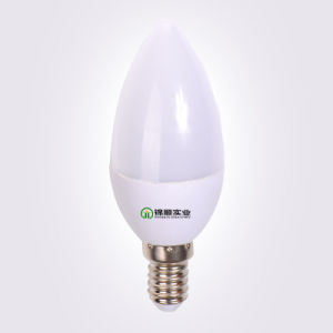 E14 C37 LED Light Bulb 3W 285lm Warm White pictures & photos