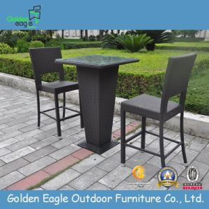 Outdoor Wicker Rattan Aluminum Popular Bar Furniture pictures & photos