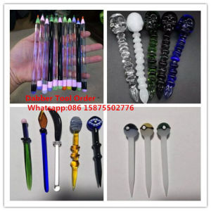 Skull Head Broadsword Shape Glass Dabber Tool pictures & photos