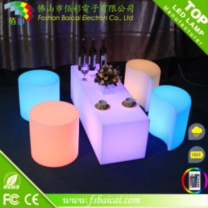 120cm Length Polyethylene LED Leisure Bench pictures & photos
