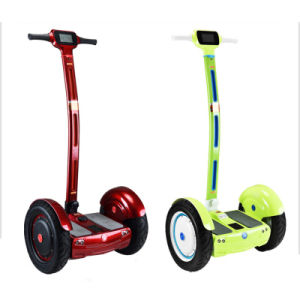 520W 60V Fashionable Electric Self Balancing Hoverboard Scooter with Handlebar pictures & photos