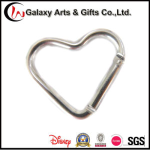 Heart-Shaped Aluminum Material Keychain pictures & photos