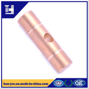Brass Pin Connector with Hole and Grooved pictures & photos