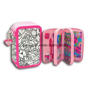 Color Me Mine Pencil Case Filled pictures & photos
