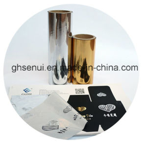 Hot Sleeking Film with Gold Color for Digital Printing pictures & photos