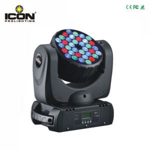36pcsx3w RGBW Beam Wash LED Moving Head Light with Ce/RoHS/FCC pictures & photos