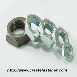 DIN439 -2-1987 Carbon steel Chamfer Hex Jam Nuts