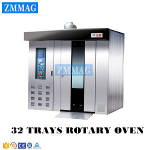 Oven Bakery Rotary Diesel 32 Trays Electric and Diesel Dual-Purpose Rotary Oven (ZMZ-32DC) pictures & photos