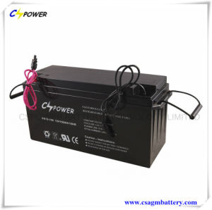 12V 150ah SMF Deep Cycle Gel Batteries for Solar Panel pictures & photos