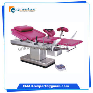 Ce FDA Proved Medical Equipment Operating Table Electrical Obstetric Delivery Bed pictures & photos