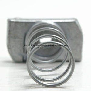 Carbon Steel / Stainless Steel Spring Nut Channel Nut Rectangular Nut pictures & photos
